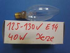 RARITé Walter Schrickel Ampoule bougie Transparent 40W E14 125-130V