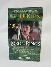 J. R. R. Tolkien THE LORD OF THE RINGS Trilogy w/THE HOBBIT Movie Tie-In Box Set