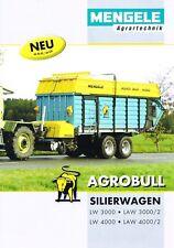Mengele Silierwagen Agrobull, orig. Prospekt 2010