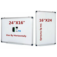 Vertical Compatible Dry Erase Board Magnetic Markers Small Whiteboard 24