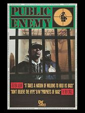 "Public Enemy LP 16"" x 12"" Photo Repro Promo Poster"