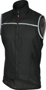 Castelli Superleggera Men's Cycling Vest Black Size Large : SUPER LIGHT