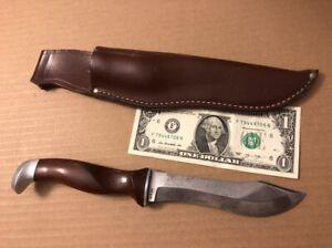 GVC Vintage Cutco 1065 Puma Style Hunting Knife with Original Sheath