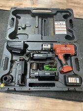 Ridgid Rp210 Propress Pressframe Crimper W 1 Battcharger See Photos