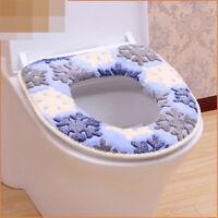 Tapis de toilette chauffant closestool Pad lavable housse de siège de toilette