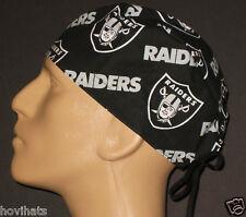 OAKLAND RAIDERS BLACK SCRUB HAT NFL / FREE CUSTOM SIZING!