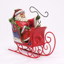 Jingle All The Way Jim Shore Santa in sleigh Christmas figurine 4034261