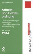 Arbeits- und Sozialordnung 2014: Einzelbezug Gesetze/Verordnungen, Einleitungen,