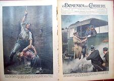 268) 1934 INCIDENTE IN POZZO A VOGHERA E RE BORIS DI BULGARIA DOM. DEL CORRIERE