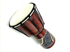 More details for djembe drum 25cm - hand painted