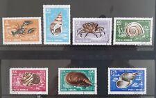 1966 ROMANIA Seashore  -  7 stamps  super condition