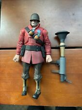 NECA Valve's Team Fortress 2 The Soldier Red AFigure 7 in Missing Some Accessori