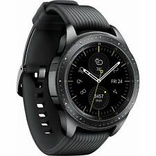 Samsung Galaxy Watch 42mm R815U Black Cellular Stainless Steel Smartwatch