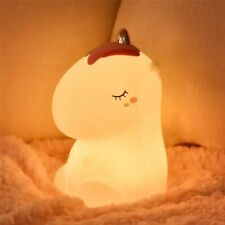 Usb Led Unicorn Bedside Lamp Touch Bedroom Night Light Rechargeable 7 Colours 🦄