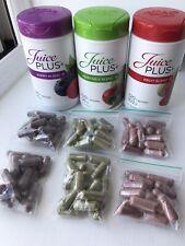Juice plus capsules 40 Berry, 40 Fruit, 40 Veg, dated NEW STOCK 2022