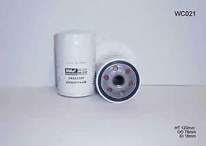 Wesfil Oil Filter WCO21 fits Mazda Tribute 2.0 4x4 (EP), 2.0 4x4 (YU)