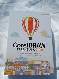 NEW CorelDRAW Essentials 2020 For Windows factory sealed