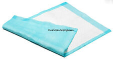 100 x Bulk Whelping Box Liner Pads Puppy Size 57cm x 75cm - 1100ml absorbancy