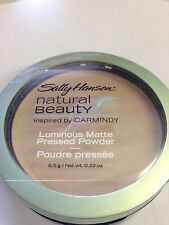 SALLY HANSEN NATURAL BEAUTY LUMINOUS MATTE PRESSED FACE POWDER *CHOOSE COLOR*