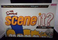 I Simpson SCENE IT? GIOCO DVD VERSIONE 2009-MATTEL - 100% COMPLETO, GRATIS P&P