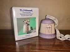 Vintage, Goebel M.I. Hummel 1992 4th Edition Christmas Bell