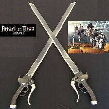 Attack on TITAN Scouting Legion Metal Gun Dual Blade Sword Set