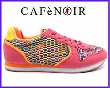 Scarpe calzature ginnastica da donna sportive sneakers basse colorate Cafe Noir