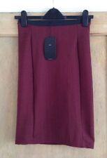 Zara Knee Length Stretch, Bodycon Polyester Skirts for Women
