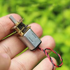 3 6v Dc Mini Micro N20 Gear Motor Slow Speed Full Metal Gearbox Diy Car Robot