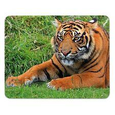 "Mousepad  ""Tiger"" - 24x19cm - Moosgummi - Raubtiere - Raubkatze - Großkatze"