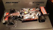 McLaren Mercedes mp4-22 2007 Hamilton 1/18 scale model F1 car by minichamps