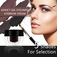 Beauty Waterproof Dyed Eyebrow Cream Enhancers& Brow Brush Tint Gel Makeup Tool