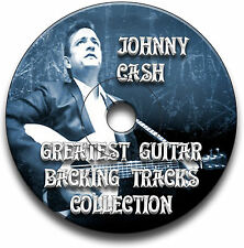 JOHNNY CASH STYLE BLUES COUNTRY ROCK GUITAR AUDIO BACKING TRACKS CD COLLECTION