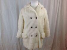 Vintage 1960s Carol Brent Faux Fur Winter Jacket Coat