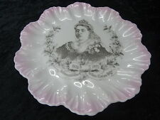 Commemorative Plate Issued to Celebrate Queen Victoria Diamond Jubilee in 1897.