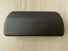 MOSCOT Spectacle Lunettes Sunglasses Glasses Dark Brown Hard Case