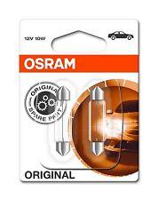 OSRAM 6411-02B 10W 12V C10W SV8,5 43mm Soffitten Lang 43mm Lampen Doppelblister