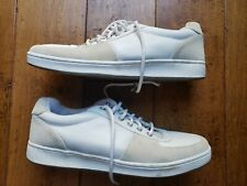 Retro American Eagle White Mens Size 14 Casual Sneakers Clean Hardly Worn
