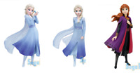 FROZEN2 Limited & Premium Figure 2 Elsa + Anna SEGA Japan Luckykuji Disney 3 set