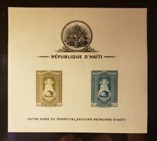 Haiti 1942 Airmail Madonna C19A Souvenir Sheet imperf - MNH