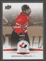 [68617] 2014-15 Upper Deck Team Canada Juniors Gold #132 Brendan Perlini SP