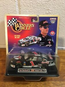Dale Earnhardt jr 1/43 Scale 1998 Winners Circle Monte Carlo coca cola bear coke