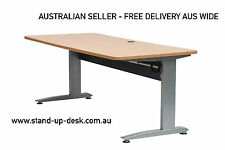 Consent 501-15 Height Adjustable Electric Desk Package with 1600mm Desktop