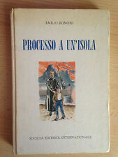 PROCESSO A UN'ISOLA Emilio Bonomi Internazionale 1959