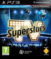 TV Superstars PS3 VERY GOOD CONDITION ORIGINAL GAME CASE WITH MANUAL