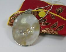 Pearl Shell Pendant Necklace