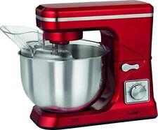 Robot de Cuisine/pétrin 1000w Clatronic KM 3647- Rouge