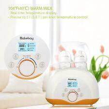 Baby Bottle Warmer/Sterilizer/Smart Thermostat 4n1 w/Lcd Monitor & Temp Control