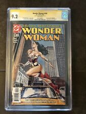 WONDER WOMAN 200 CGC 9.2 (2004) - SIGNED BY DREW JOHNSON - WHITE PAGES