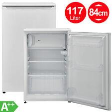 Tischkühlschrank A++ Kühlschrank 117 Liter Gefrierfach Stand 54 cm breit weiß